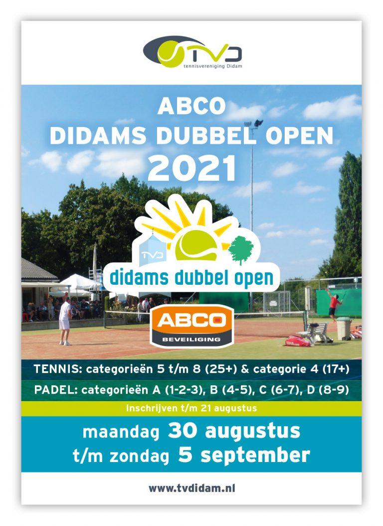 TVDidam ABCO Didams Dubbel Open 2021