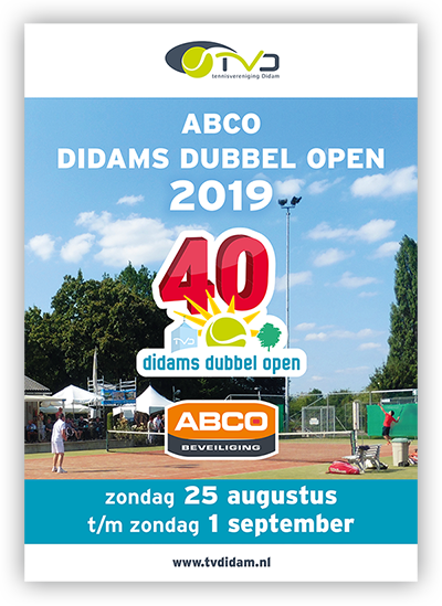 TVDidam Didams Dubbel Open 2019 cover