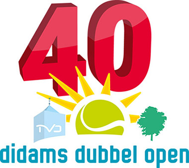 TVDidam Didams Dubbel Open 40 jaar logo