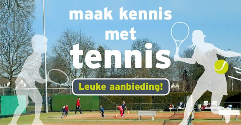 TVDidam Maak kennis met tennis leuke aanbieding
