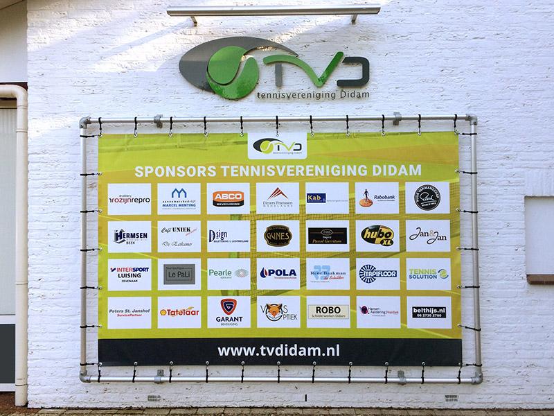 TVDidam sponsorendoek